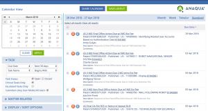 Anaqua- A Patent Docketing Software